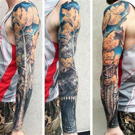 badass tattoo sleeves with tree badass mens sleeves tattoos