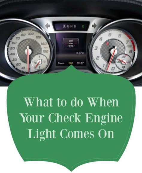 when check engine light comes on what to do when your check engine light comes on