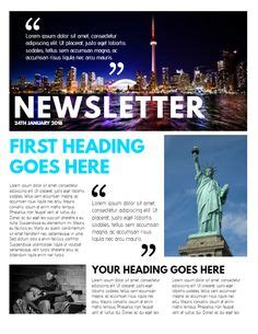 professional newsletter templates professional newsletter sle click to customize