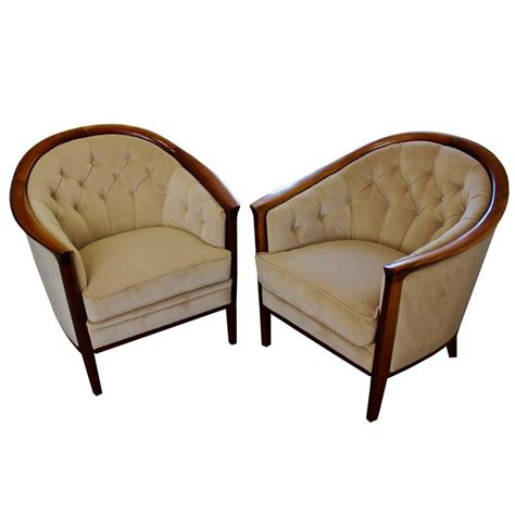 1960s furniture pair of swedish wood tub chairs by bertil fridhagen circa