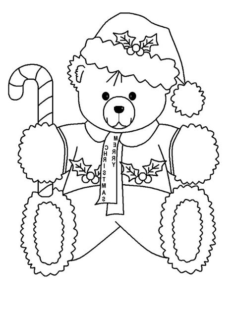 holidays coloring pages teddy bear 96 holidays coloring pages teddy bear stocking and