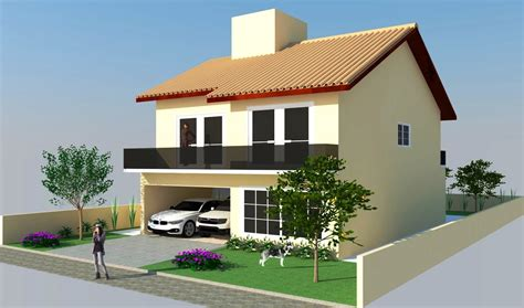 pavimento casa sketchup casa 2 pavimentos modelo d parte 02 03