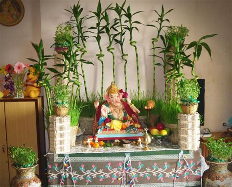 Decoration For Home ganpati decoration ideas for home the royale