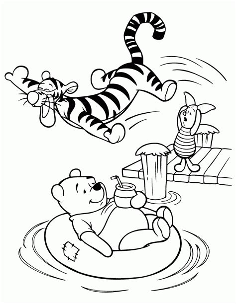 coloring pages disney winnie the pooh 7 walt disney winnie the pooh and friends coloring pages