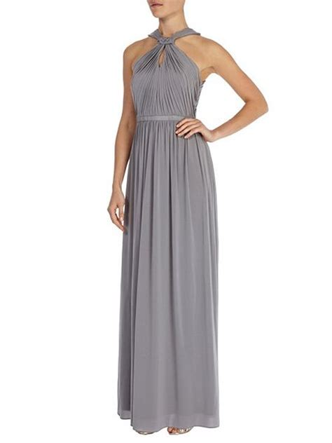 Laudia Maxi coast maxi jersey dress grey house of fraser