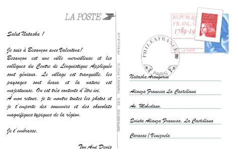 Exemple De Lettre Postale Projet Web 2 0 Activit 233 5 Niveau 2