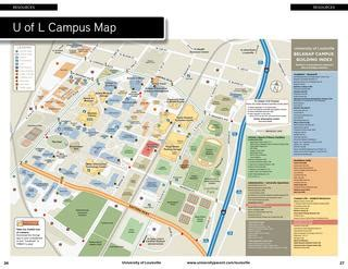 Uofl Parking Office by Uofl Map