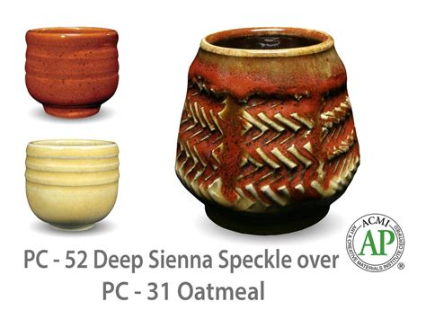amaco glazes pc 31 oatmeal pc potter s choice amaco
