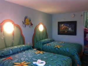 disney of animation resort the mermaid room