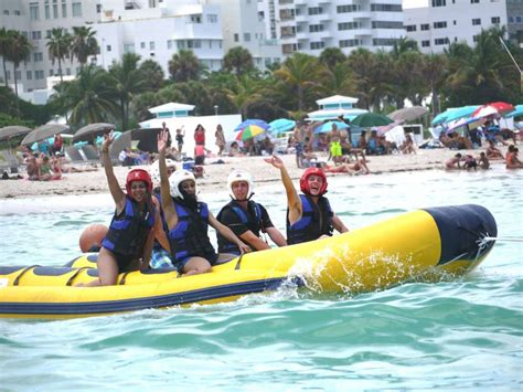 brothers brothers banana boat rides boucher brothers - Banana Boat Rides In South Beach Miami
