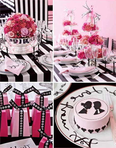 black and white bridal shower centerpiece ideas 33 beautiful bridal shower decorations ideas table