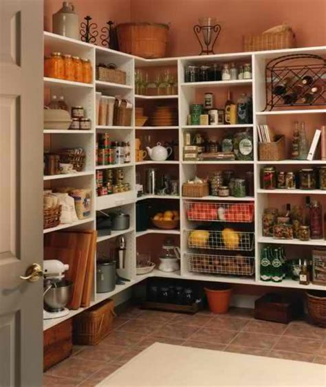 Pantry Closet Design by Organized Pantry And Pantry Tips Creative Cleaning And