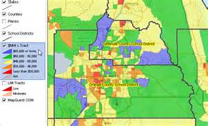 orange county florida district map largest 100 school districts