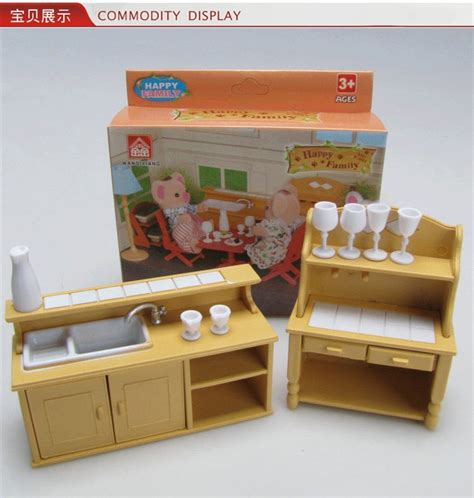pretend kitchen furniture 1 12 miniature home furniture mini toy kitchen room set