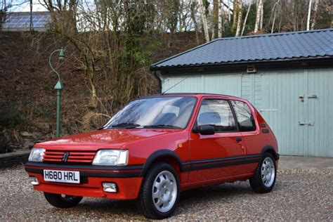 Peugeot 205 Gti by Photo Peugeot 205 Gti 1 9 130 Coup 233 1991 M 233 Diatheque