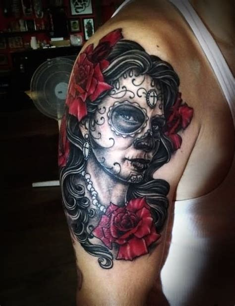 pin up rose tattoo 35 dia de los muertos pinup tattoos