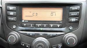 2005 Honda Accord Radio 2005 Honda Accord Stereo Cd Player