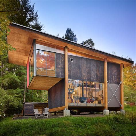 design manufacturing woodland wa foraged materials form artist s home and studio in