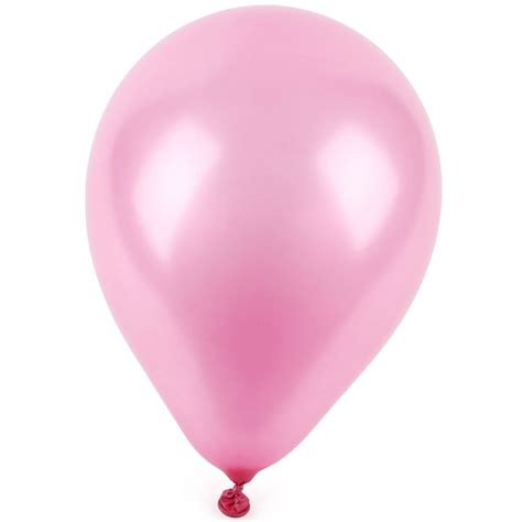Home Made Cake Decorations by Pink Pearlised Balloons Pack Of 12