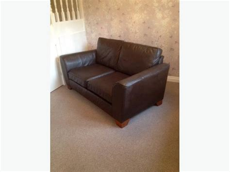 marks and spencer leather sofa marks and spencer dark brown leather sofa and chair
