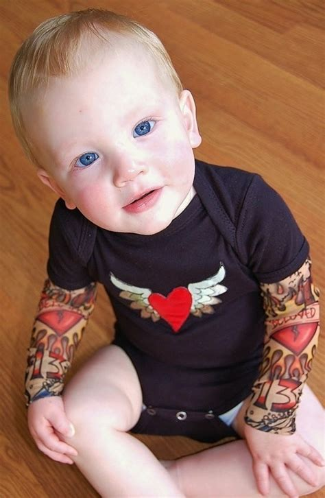 baby tattoo sleeves baby onesie sleeves baby stuffs