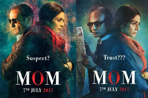 film india mom the poster of mom starring sridevi is out and it looks