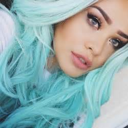 1000 ideas about pastel blue hair on dyed