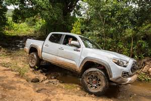 Toyota Tacome 2017 Toyota Tacoma Trd Pro Road Review Motor Trend