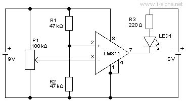 pull up resistor lm311 f alpha net experiment 11 open collector output ii