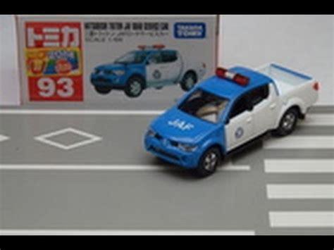 tomica mitsubishi triton 93 mitsubishi triton jaf road service car tomica car 01565