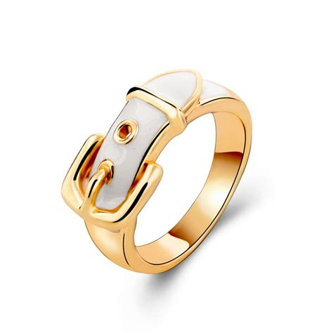 golden ring new design fashion new design rings for gold plated