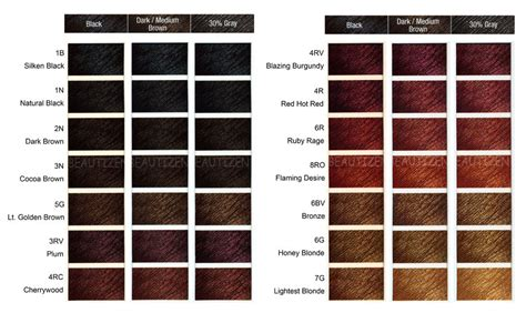 clairol color chart 16 best images of flare clairol color chart miss clairol