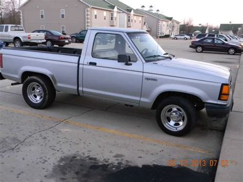 manual cars for sale 1991 ford ranger spare parts catalogs buy used 1991 ford ranger custom standard cab pickup 2 door 2 3l in mountain home arkansas
