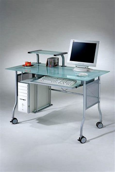 Modern Glass Computer Desk Modern Glass Computer Desk Drk Architects