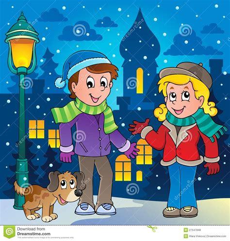 imagenes de invierno caricatura imagem 3 dos desenhos animados da pessoa do inverno