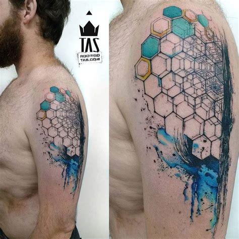 best tattoo design for arm geometric hexagon arm best ideas designs