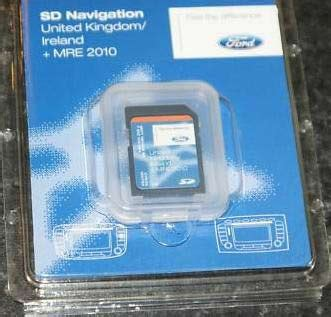 replacement ford satellite navigation sdcard sinspeed