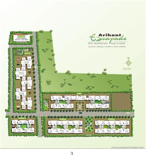 layout plan of land arihant escapade thuraipakkam chennai residential