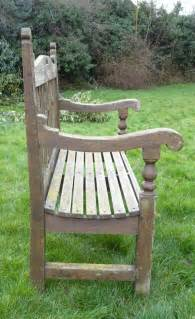 antique garden benches for sale antiques atlas arts and crafts garden bench in teak