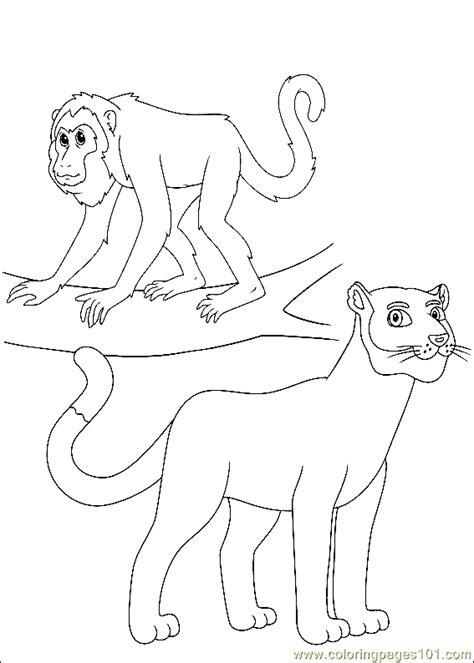 Free Coloring Pages Of Bo On The Go Bo On The Go Coloring Page