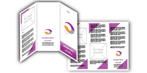 microsoft templates brochures free microsoft word corporate brochure templates