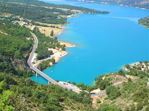 Lac de sainte Croix ? Camping International Camping Aups Var
