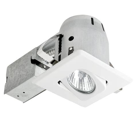 globe electric recessed lighting installation globe electric 4 in white recessed lighting kit with