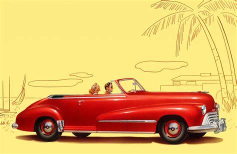 Bookshelf With Wheels Mad Men On Wheels Vintage Car Ads Brain Pickings