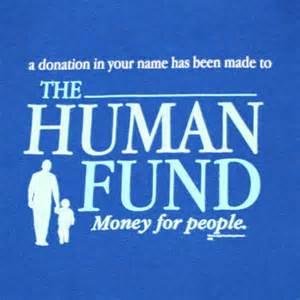 pledgie donate to quot the human fund quot