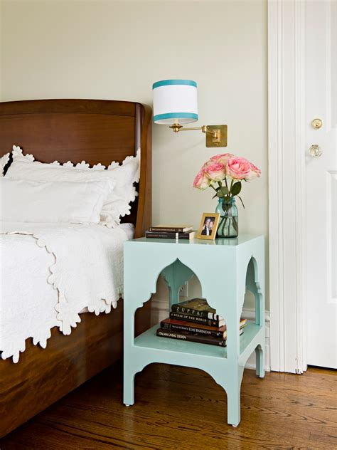 bedroom height bedside table height bedroom traditional with aqua