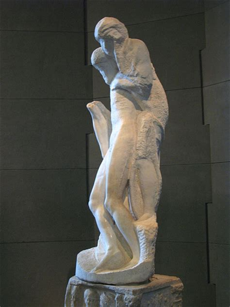 michelangelo sculptures rear view michelangelo and famous art the rondanini pieta by michelangelo this is the last