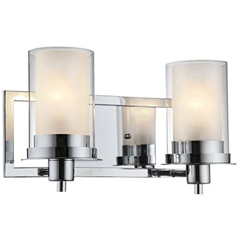 designers impressions juno polished chrome 2 light wall