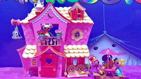 lalaloopsy dolls house mini lalaloopsy sew sweet house playhouse with mini lalaloopsy dolls and exclusive