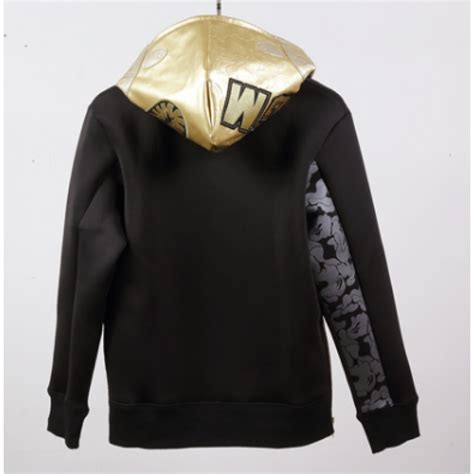 Sweater Jaket A Bathing Bape a bathing ape classic gold hoodie black